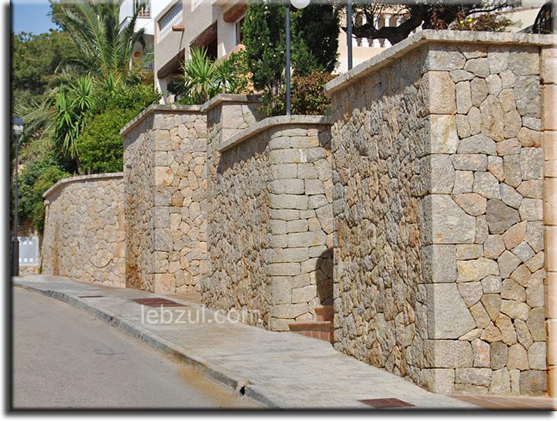 Entradas y forro de piedra pto andratx mallorca - Entradas de piedra natural ...